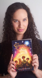 Lookit! It's me and the book that could soon be your book!