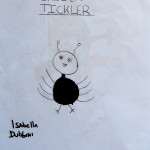 Tickling spider by Isabella D