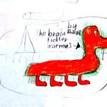 Braintickler worm by Robert