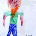 Sam, Head Tickler by  Sarah M